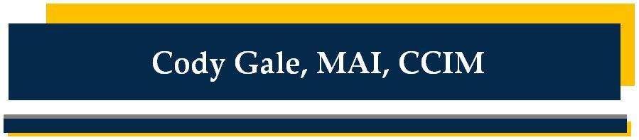 Cody Gale, MAI, CCIM